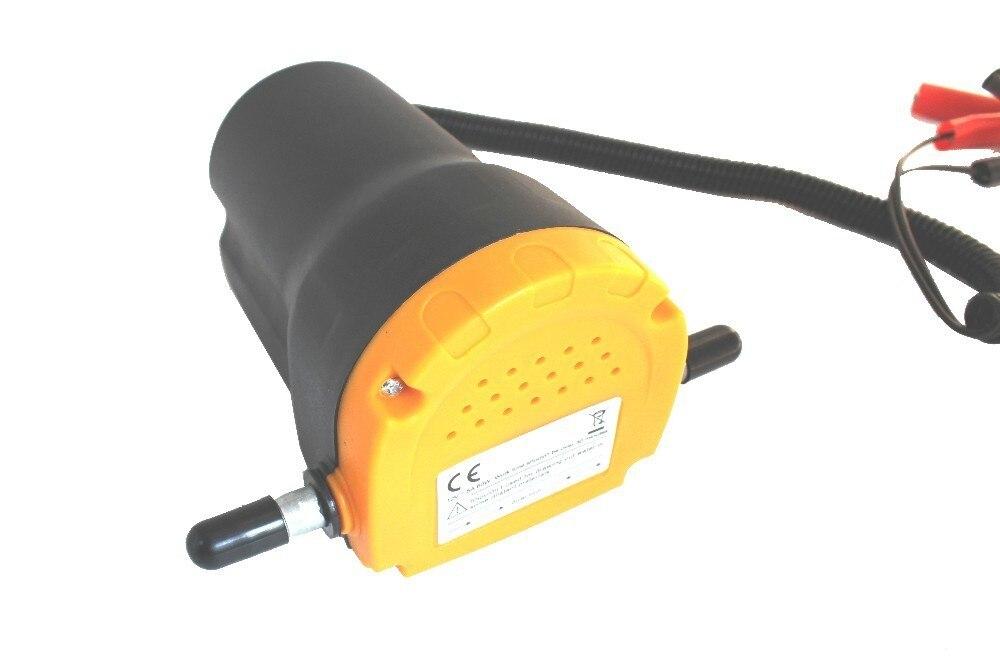 Pompe à huile de moteur électrique, aspiration de transfert de carburant d'échange de Scavenge d'extracteur d'huile/Diesel de cc 12/24 V pour avec la moto de bateau de voiture