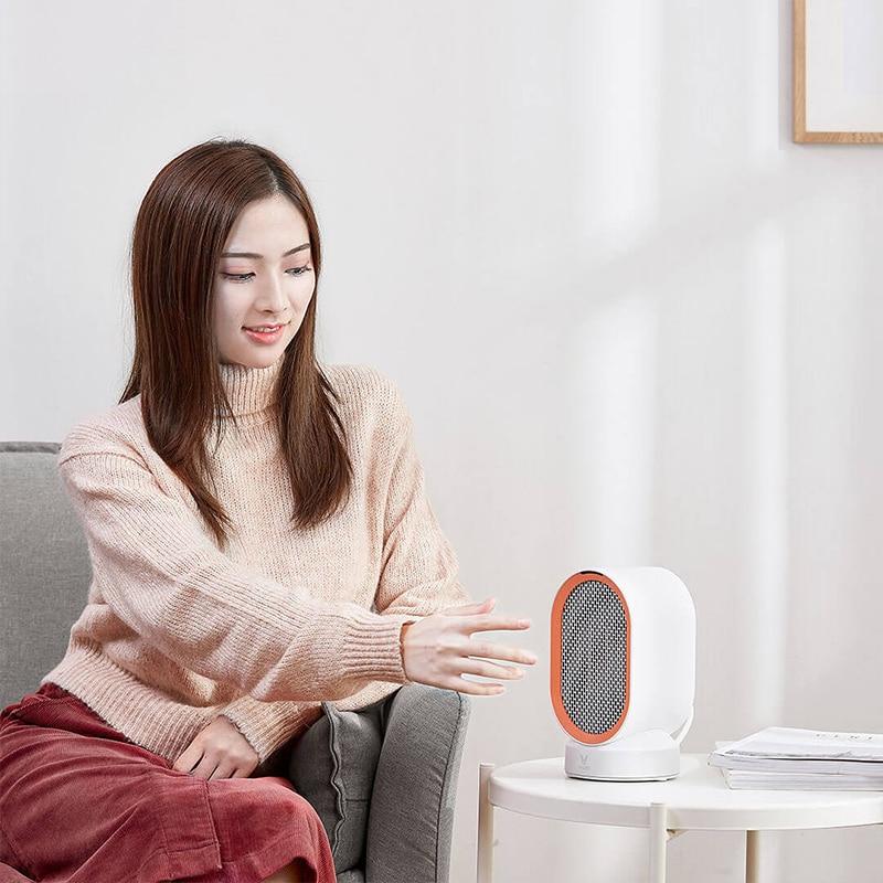 2019 nouveau Xiaomi Yunmi comptoir chauffage PTC céramique sèche mains chauffage main plus chaud bureau chauffage cadeau de noël pour l'hiver-in Télécommande connectée from Electronique    1