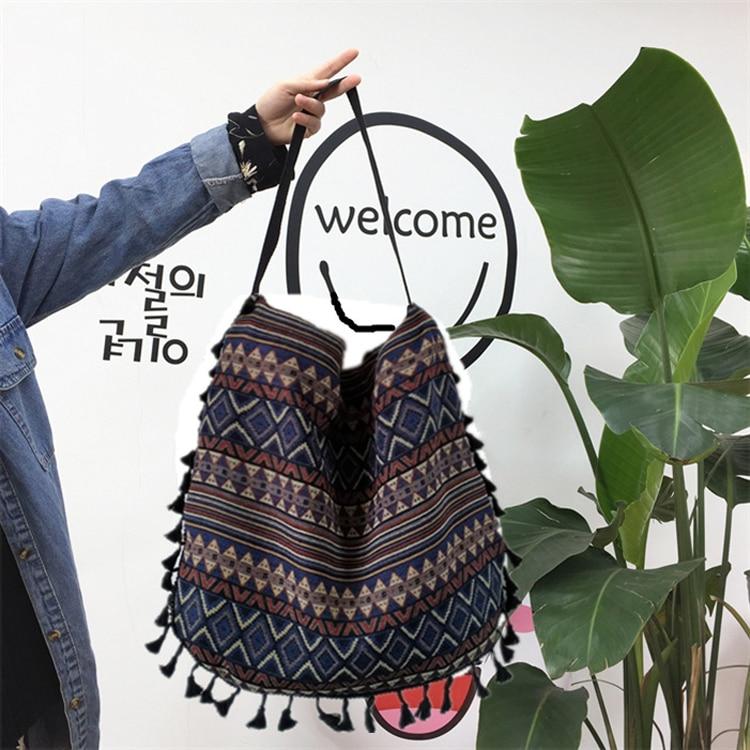 bohemian bags vintage shoulder bag women's handbags (11)