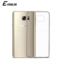 Ultra Thin Slim Clear Soft TPU Case For Samsung Galaxy Note 5 4 3 S5 S4 S3 J1 Mini Ace Jean A8 A9 Star Lite Silicone Back Cover(China)