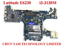 CN-0MTGT0 FOR DELL Latitude E6230 LA-7731P Laptop Motherboard MTGT0 I3-3130m Mainboard 90Days Warranty 100% tested