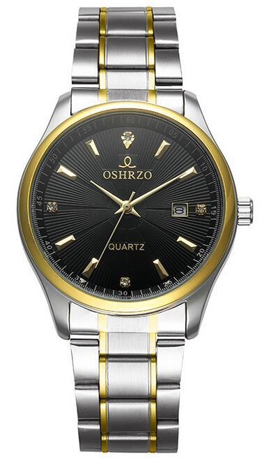 2017 new Balanceds  Automatic OSHRZO Men Watch Women Fashion Luxury Brand Strap Sport calendar Quartz Watches #574 B019