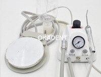 Стоматологическая лаборатория портативный трубоагрегат воздушный компрессор 3 способ наконечник 4 отверстия Бесплатная доставка