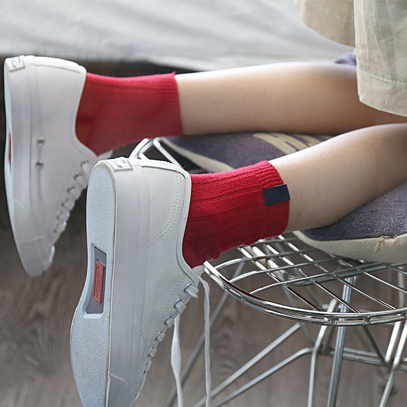 5Pair Fashion Male Socks Mens Socks Brand Quality Polyester Breathable Autumn Winter Sock Casual Socks Men Calcetines 10 Colors