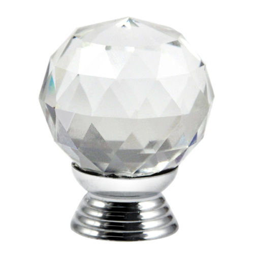 Best Selling 8X Clear Crystal Glass Door Knobs 30mm Drawer Cabinet Handle 8x clear crystal glass clear cut door knobs 30mm drawer cabinet kitchen handle