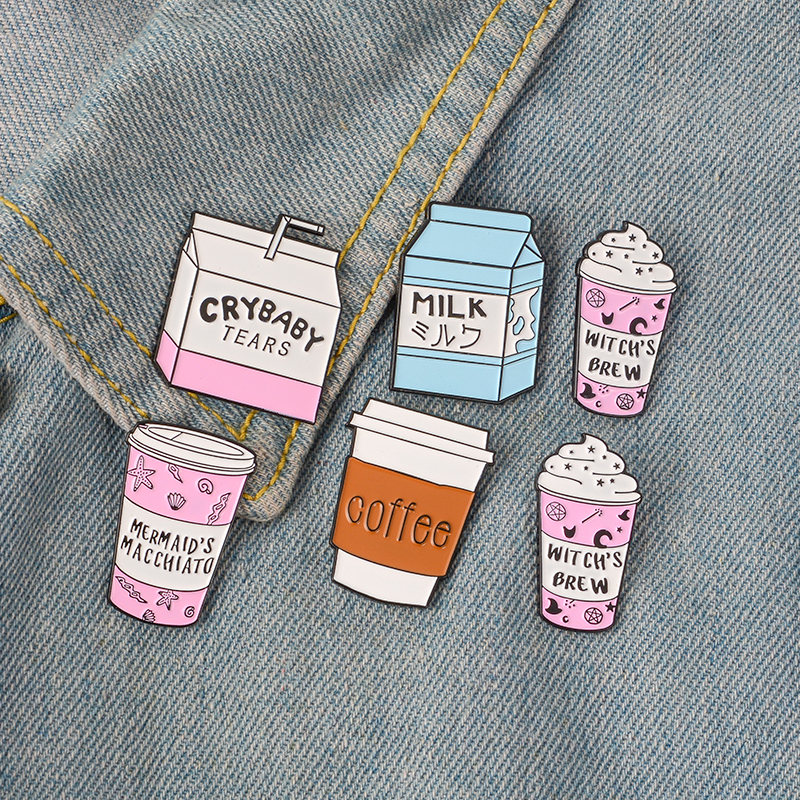 QIHE-JEWELRY-Coffee-pins-Travel-cup-brooches-To-go-cup-badges-Milk-lapel-pins-Gift-for(1)