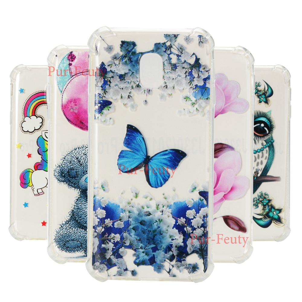 Case For Samsung Galaxy J3 2017 J330 SM-J330 SM-J330F/DS Transparent Soft Silicone TPU Cover For Galaxy J5 J510K J510L J510S bag
