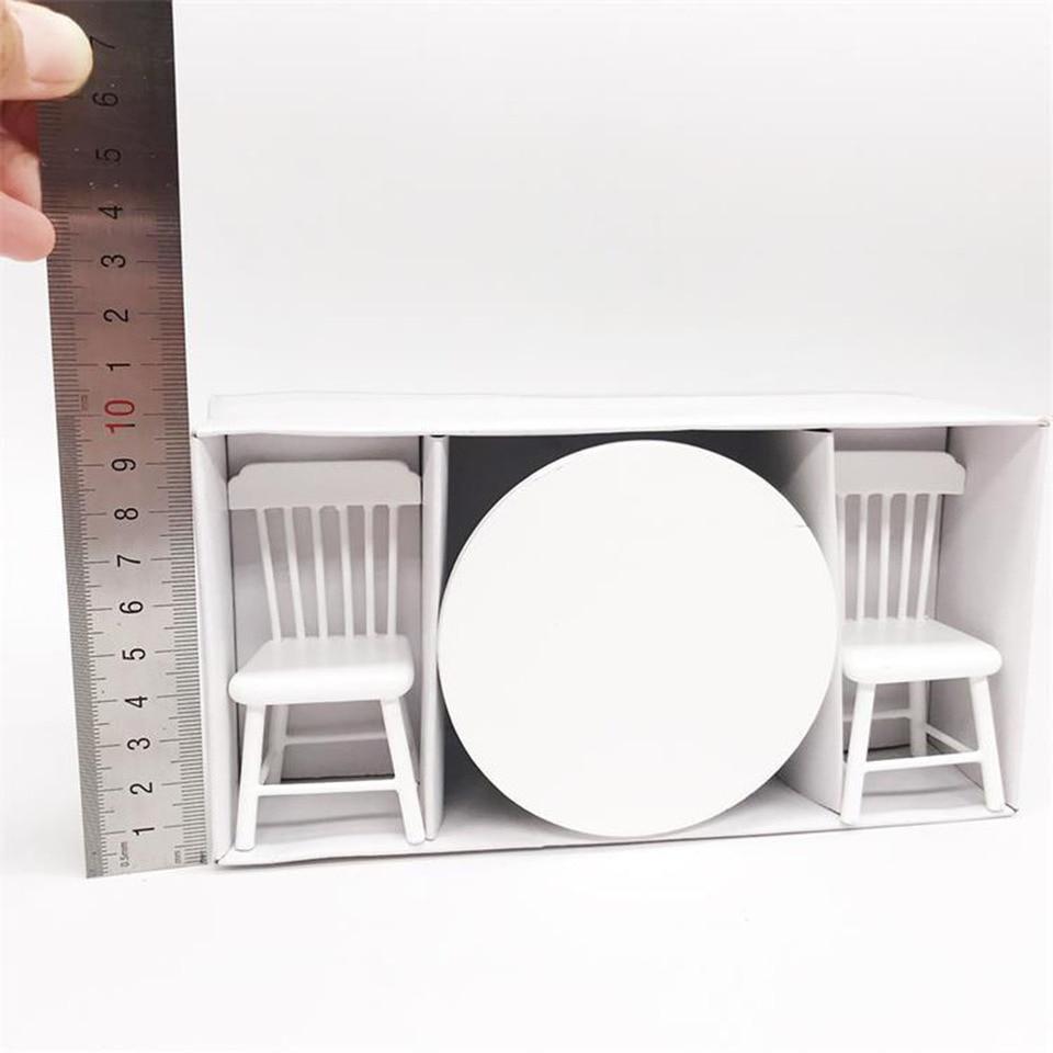 Simulation Miniature Dining table Furniture Model Toy  1//12 Dollhouse Decorat.US