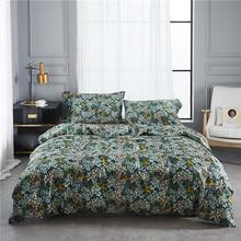 2018 new bedding set queen size in bedspread long staple cotton American pastoral duvet cover bed sheets 4pcs housse de couette