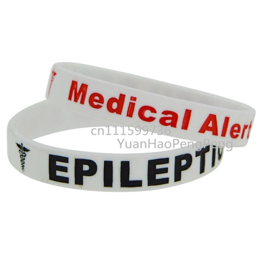 Epilepsy Medical Bracelet Epilepsy Bracelet Epileptic Personalized Jewelry Gift for Her Medical Alert Epilepsy Awareness