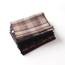 [BQACCES] Winter Thick Warm Cashmere Like Scarves Men Tartan Plaid Wool Blanket Scarf Brand Pashmina Shawl Wraps Hot Sale