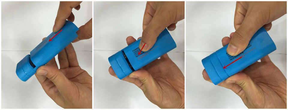 Portátil 2x18650 Anti-retroceso cargador de batería del Banco de la energía USB Kit cargador caja para iphone para Xiaomi para todos los teléfonos inteligentes
