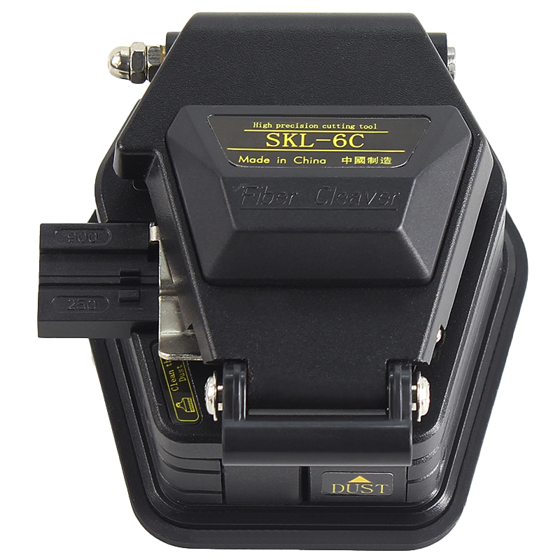 Волоконный Кливер SKL-6C нож для резки кабеля FTTT волоконно-оптический нож инструменты cutter16 лезвие