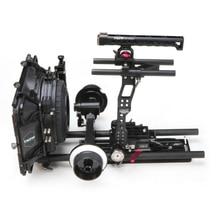 Tilta Rig Kit 19MM Rail for Canon C300 C500 Cage + Baseplate + Dual follow focus + 4*5.65 Carbon matte box