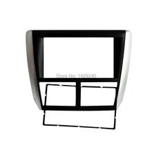 Leewa 2 дин Радио панель для Subaru Forester 2008-2012 Impreza 2007-2012 Стерео фасции Даш CD отделка Установка комплект