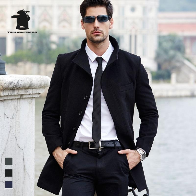 Popular Navy Pea Coat Men-Buy Cheap Navy Pea Coat Men lots from ...