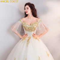 Golden Palace Embroidery Elegance Pregnancy Early Pregnant Woman Bride Wedding Dress Pregnancy Maternity Clothing Schwangere