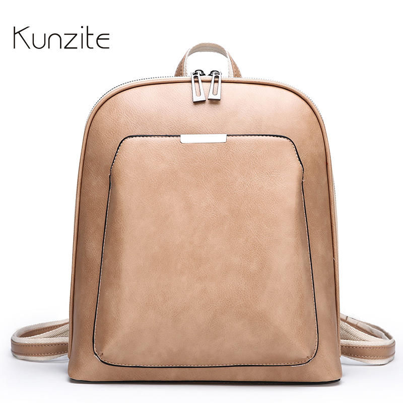 Fashion Women Backpack High Quality Youth Leather Backpacks for Teenage Girls Female School Shoulder Bag Daily