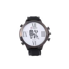 ShiWeiBao Reloj A1106 Moda números romanos Del Cuarzo Del Reloj Con la Cara Divertida foto