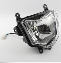 цена на Motorcycle Headlight 12V 35W for HONDA CRF250L 2013-2017 Motorbike Head Light Plastic Motor Front Headlight