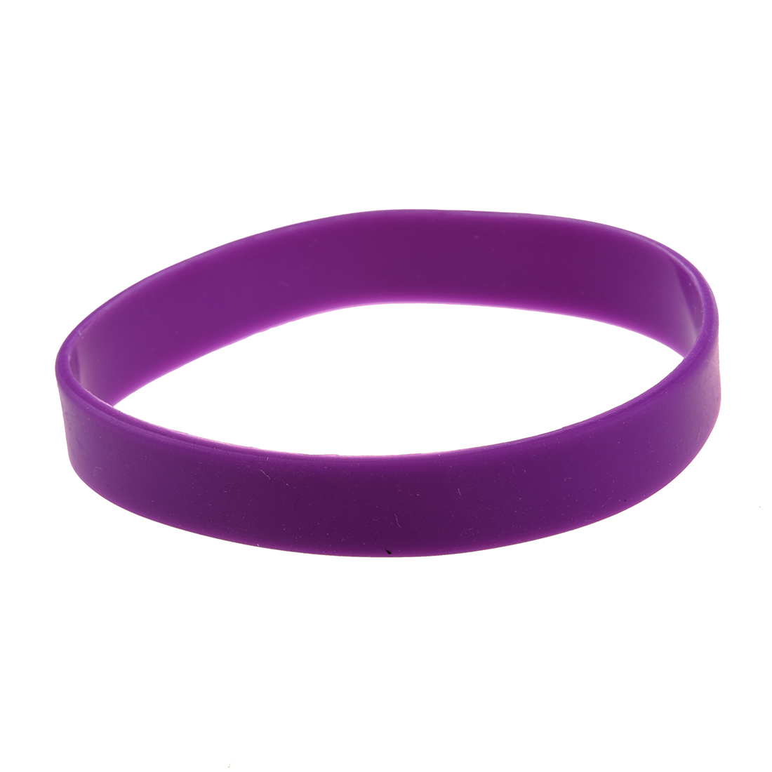 Резиновые браслеты фиолетовые