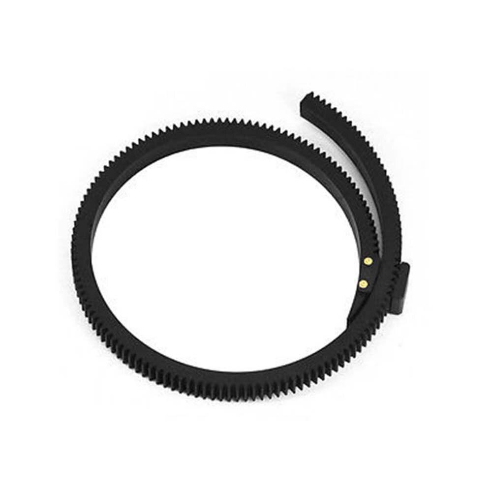 Lente de 1X Flexible Ajustable Anillo de engranaje de enfoque de seguimiento Correa Para DSLR Videocámara V6T8