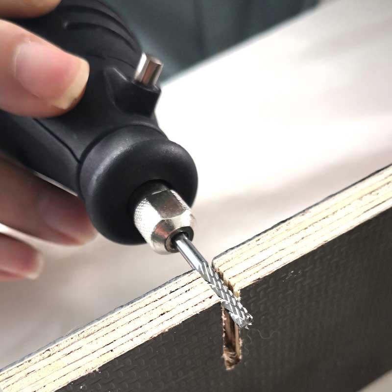 20 buc Bucla de tungsten Burs Mini burghiu Gravură Gravuri Bits - Instrumente abrazive - Fotografie 6