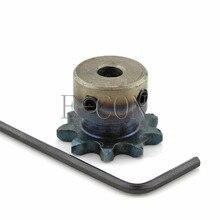 1 шт 9T 5 мм Диаметр 04C9T именные таблички мотор Шестерни звездочки роликовой цепи ведущая звездочка