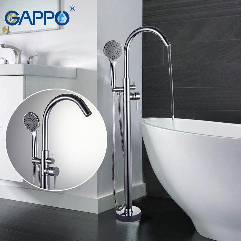 GAPPO Banheira Torneiras torneiras do banheiro torneira do banheiro misturador da banheira de Latão mixer bath torneira da pia cachoeira torneira GA3098