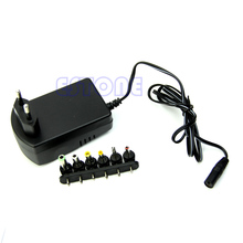 Universal EU AC/DC Adaptor Plug Power Supply 3V 4.5V 5V 6V 7.5V 12V DC Charger
