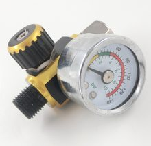 Scratch Spuitpistool Air Regulator Gauge & In-Line Water Fornuis Filter Tool Spuitpistool Regulator en Mini Spray gun Luchtfilter(China)