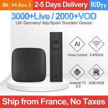 Xiaomi Mi Box 3 IPTV UK Swedish Italy IP TV Spain Germany Greek Subscription xiaomi Arabic Romania India France Turkey
