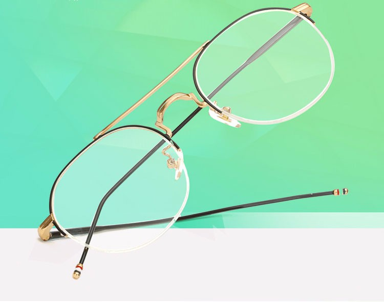 1b1c319813417 ≧Ralferty Stylish Eyeglasses Frame Women Men Brand Transparent ...