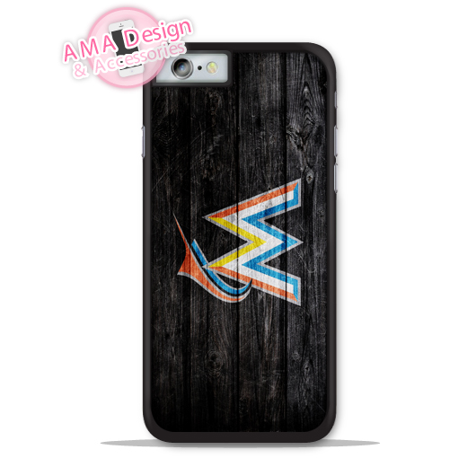 Miami Marlins Baseball Phone Cover Case For Apple iPhone X 8 7 6 6s Plus 5 5s SE 5c 4 4s For iPod Touch