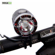 WOSAWE 1200 Lumens  XML-T6 LED Bicycle Headlight Bike Lamp Cycling Front Light Bicycle Torch Bicycle Accessories with USB Cable