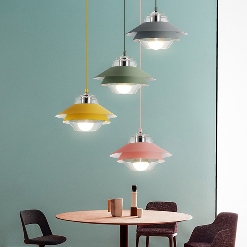 LED Nordic Postmodern Designer dining room hanging lights Restaurant Lamps Bedroom Fixtures Bar lighting Cafe Pendant Lights 110v 240v g4 led copper glass pendant lights lamps lighting 1 light d30cm for dining room kitchen cafe bar led hanging lights
