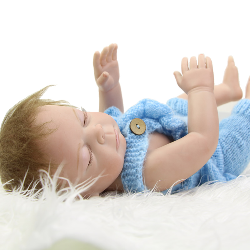 New Arrival 20 Inch Reborn Baby Dolls Full Silicone Vinyl Alive Newborn Sleeping Girl Babies With Knitted Clothes Kids Playmate sleeping realistic baby doll reborn 20 inch newborn full silicone vinyl alive babies dolls with leopard dress kids playmate