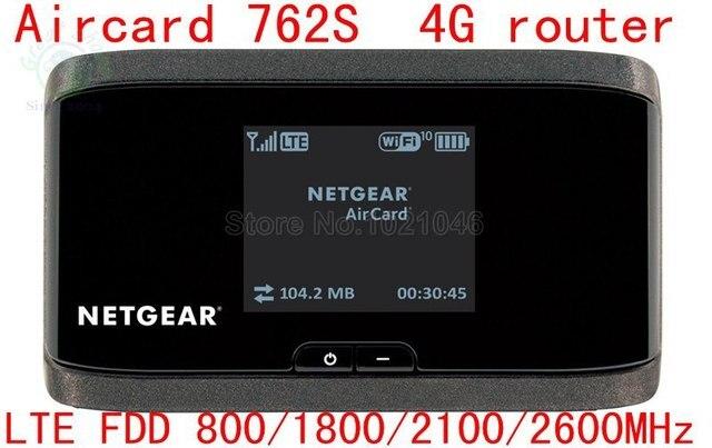 Разблокирована Сьерра Aircard 762 S 100 Мбит 4 Г LTE FDD 800/1800/2100/2600 МГц Беспроводной маршрутизатор 3 Г UMTS, Wi-Fi Mobile Hotspot ПК 760 S 754 S