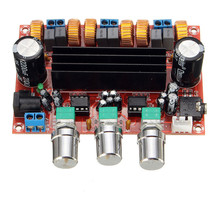 SCLS Amplifier Board TPA3116D2 50Wx2+100W 2.1 Channel Digital Subwoofer Power 12~24V