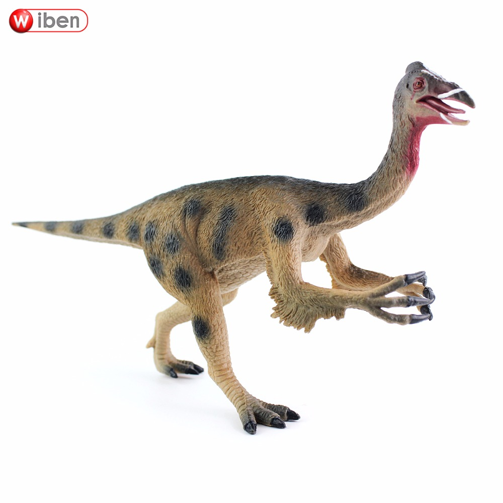 Wiben Jurassic Deinocheirus Dinosaur Action & Toy Figures Animal Model Collection Classic Toys Educational Kids Christmas Gift diy piececool 3d metal model toy dinosaur rock p062s orignal design puzzle 3d metal educational models brinquedos kids toys