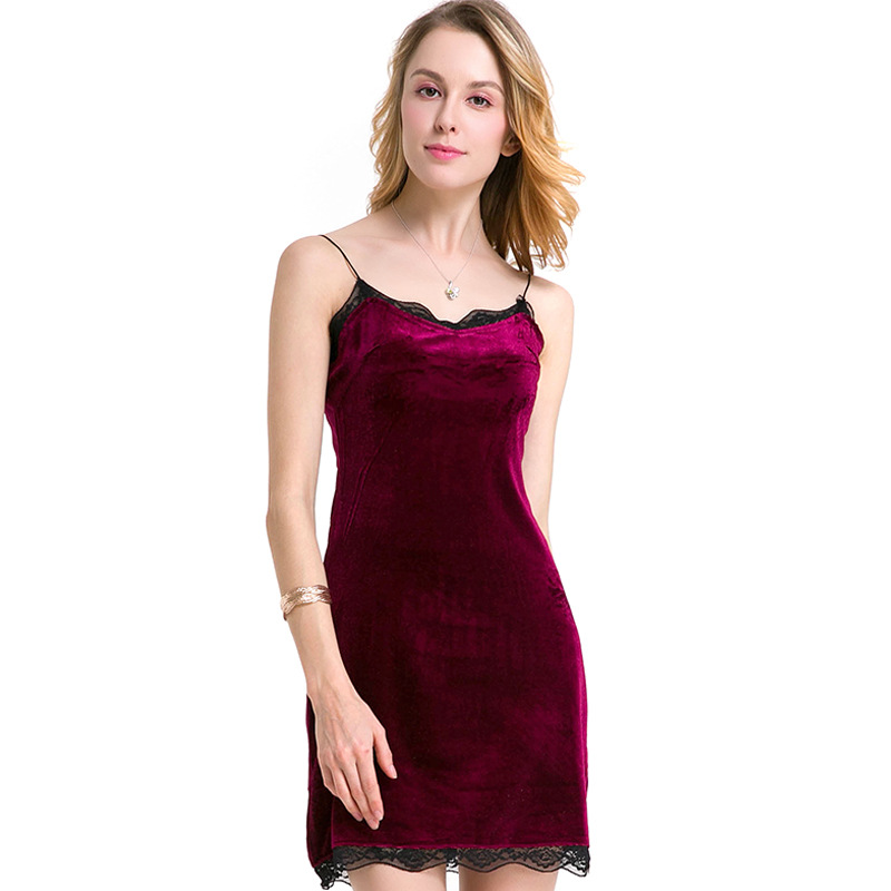 <font><b>Women's</b></font> Clothes Satin Mini <font><b>Dresses</b></font> <font><b>2019</b></font> <font><b>Summer</b></font> Ladies Red <font><b>Sexy</b></font> <font><b>Dress</b></font> <font><b>Women</b></font> <font><b>Elegant</b></font> <font><b>Fashion</b></font> <font><b>Lace</b></font> Side Club Party Bodycon <font><b>Dresses</b></font> image