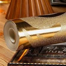คลาสสิก Damask Gold ฟอยล์เงินกระดาษ Glitter วอลล์เปเปอร์ภาพจิตรกรรมฝาผนังเพดานห้องนอนโซฟาทีวีพื้นหลังกำแพงตกแต่งบ้าน
