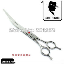 8.0inch Pet Scissors Cutting Scissors,Dog Upwarp Clipper ,JP440C,1pcs/Lot,Brand New,Free Shipping