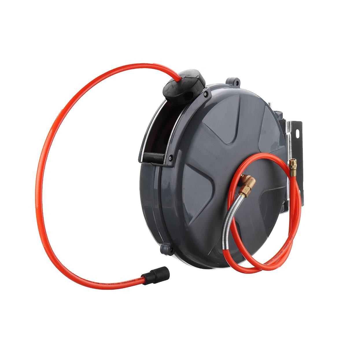 Enrouleur de tuyau d'air automatique 3/8 pouces 10m étendre les tuyaux de plomberie enrouleur rétractable automatique pour Kit de réparation de voiture