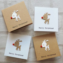 Animal cute deer Cutting Dies Scrapbooking Metal Embossing Stamps and die for Card Making festival card