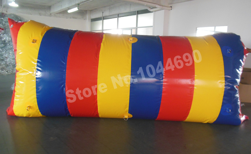 Free shipping 5*2m inflatable water catapult blob jump water blob for sale (Free pump + repair kits)