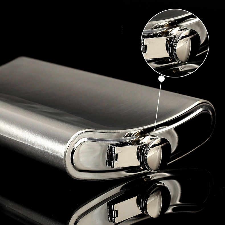 ホット販売特大大容量 8/18/32/48/64 オンス 18/8 ステンレス鋼のヒップフラスコウイスキーモスクワ cccp フラゴン Pu レザーバッグ