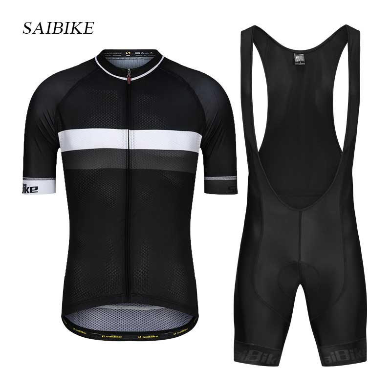 saiBike Summer Men MTB Bike Cycling Clothing 2018 Breathable Mountian Bicycle Clothes Ropa Ciclismo Quick-Dry Cycling Jersey Set цена