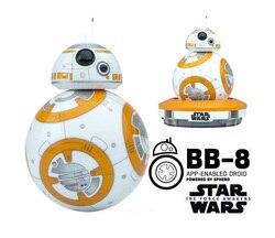 Sphero BB-8 Star Wars Bluetooth fernbedienung roboter intelligente kleine ball intelligenz spielzeug Für kinder geschenk freies verschiffen