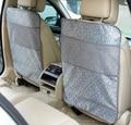 for infiniti q50 q70 esq qx ex jx fx grey black waterproof car seat back stowing tidying mat Cover Children Kick Mat Mud Clean